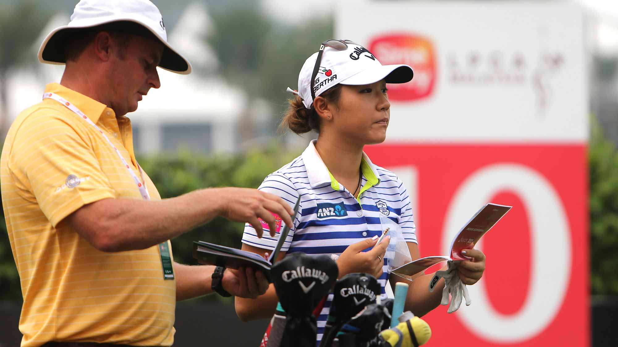 Lydia Ko during her practice round at the 2015 Sime Darby LPGA Malaysia
