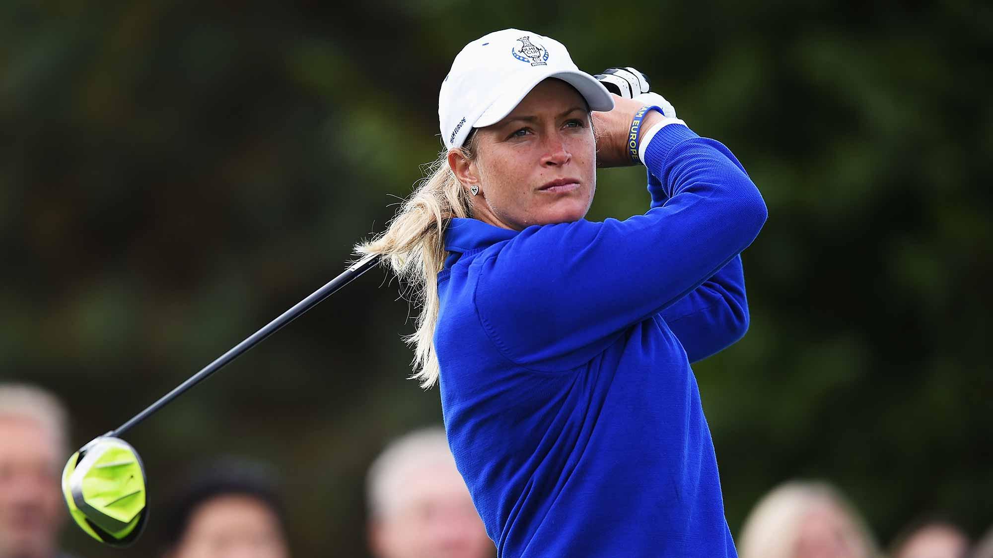 Suzann Pettersen Addresses Solheim Cup Controversy   LPGA   Ladies Professional Golf Association