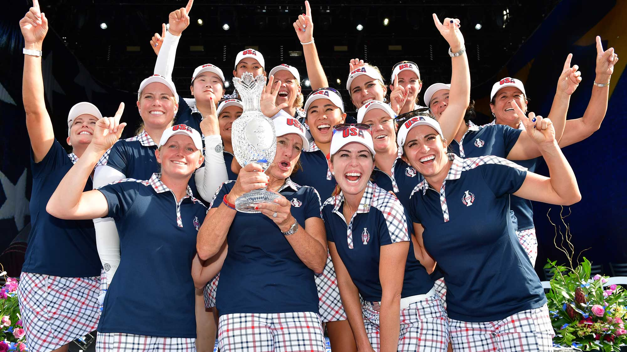 Image result for 2017 solheim cup champions