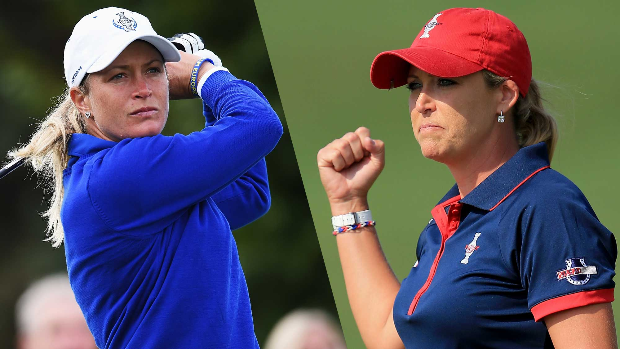 Suzann Pettersen out of Solheim Cup firing line after suffering back injury