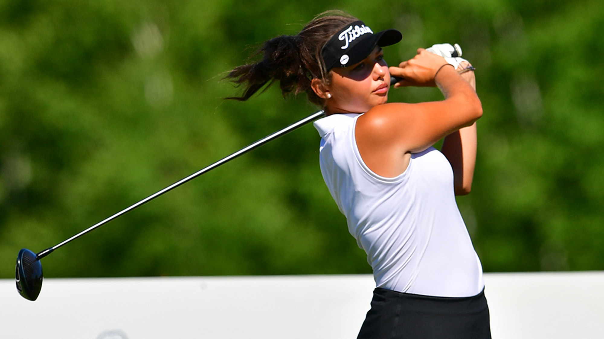 Alexa Pano Swings at the Thornberry Creek LPGA Classic