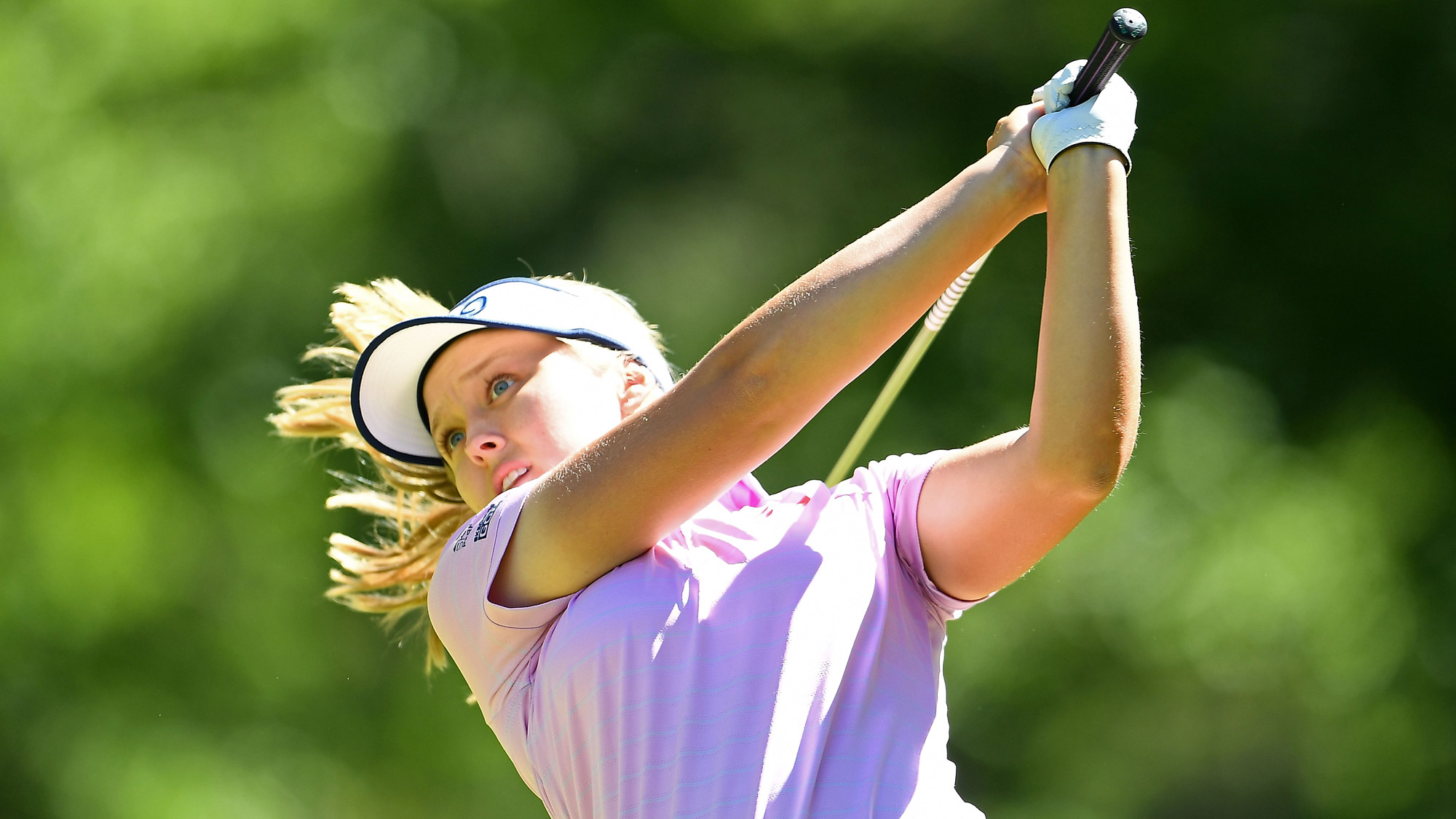 Brooke Henderson Takes a Big Swing at Thornberry Creek