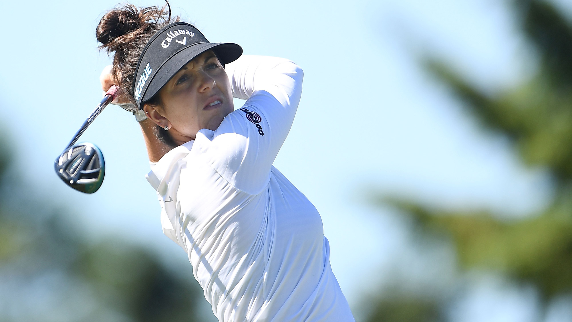 Emma Talley Swings on Friday at the Thornberry Creek LPGA Classic