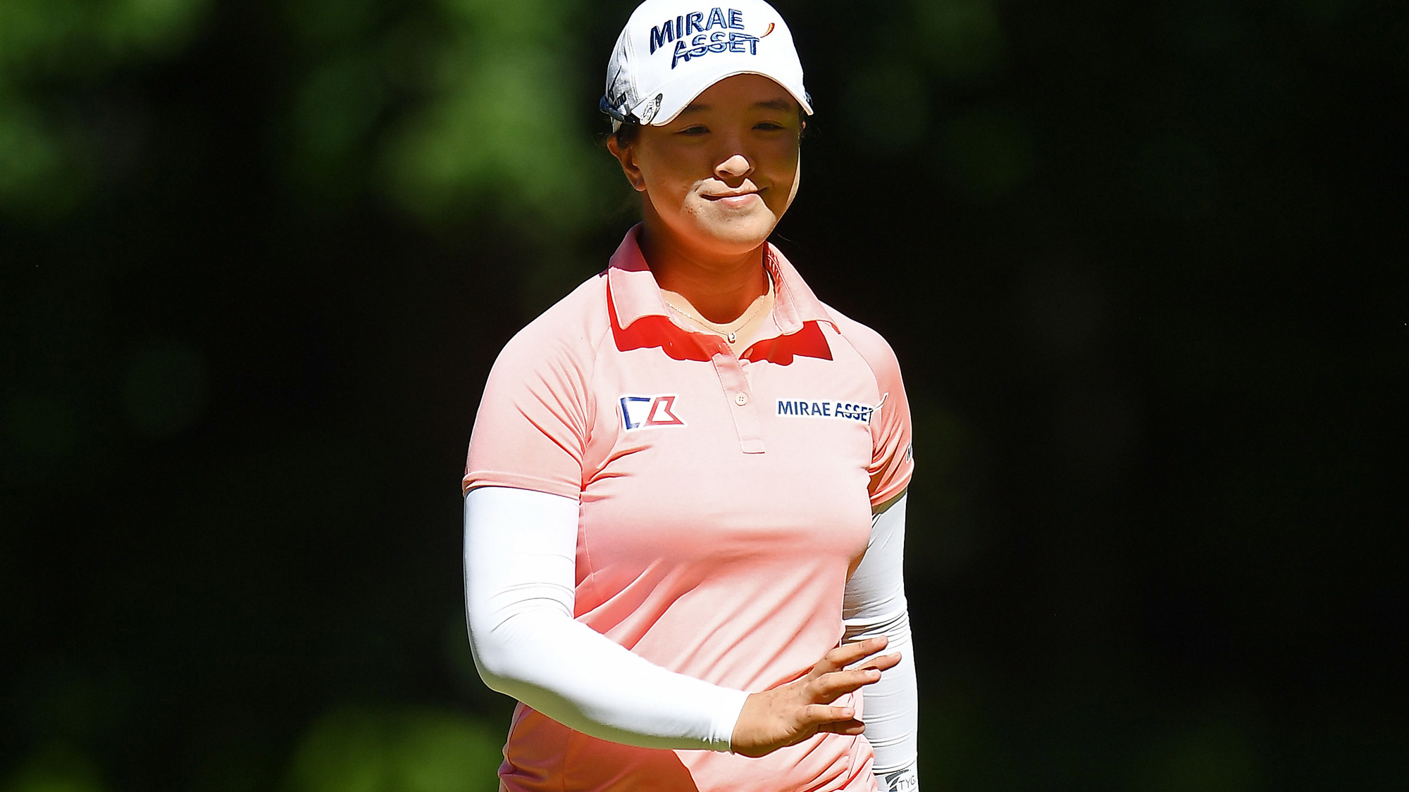 Sei Young Kim After a Birdie at Thornberry Creek