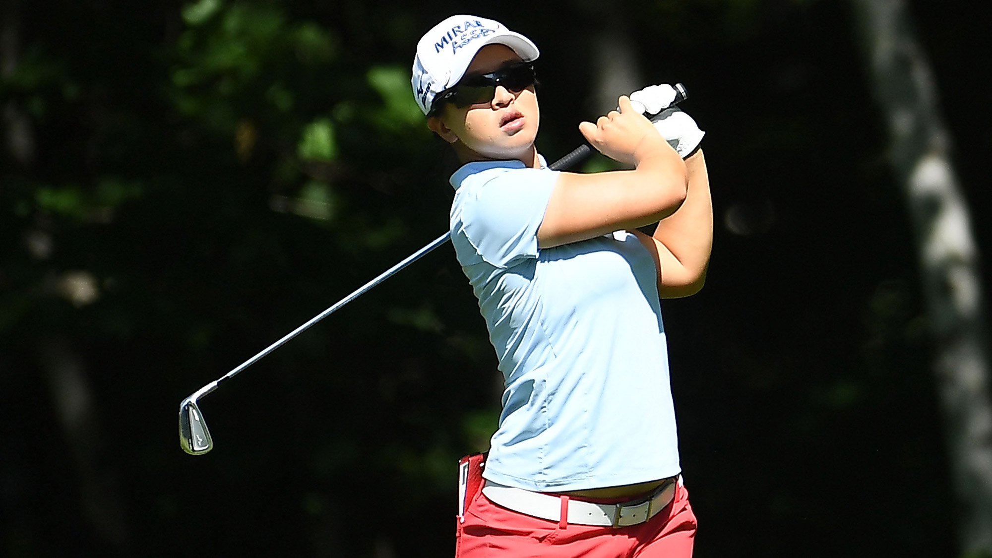 Sei Young Kim Swings on Sunday at the Thornberry Creek LPGA Classic
