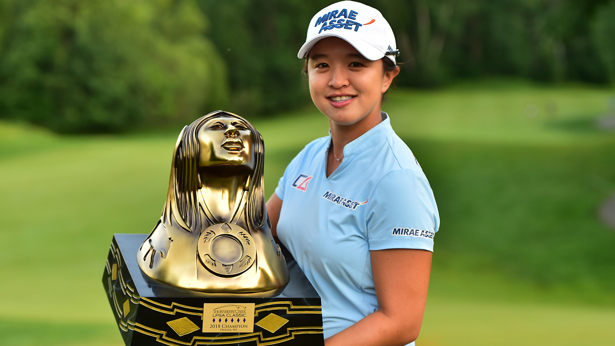 Sei Young Kim Trophy Shot