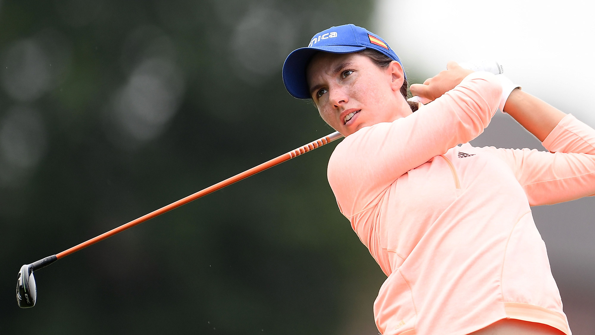Carlota Ciganda at the Thornberry Creek LPGA Classic