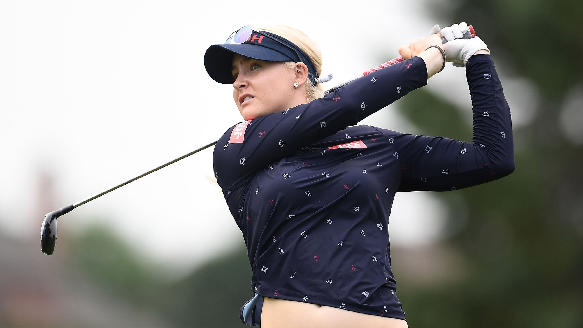Charley Hull Takes a Rip on Day One in Oneida