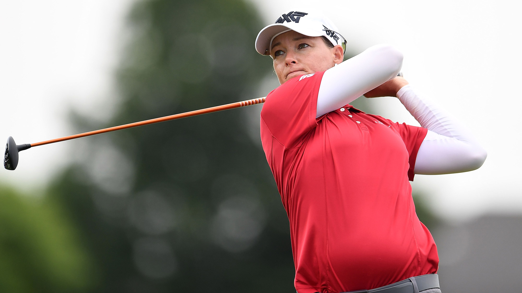 Katherine Kirk Swings in Round One of the Thornberry Creek LPGA Classic