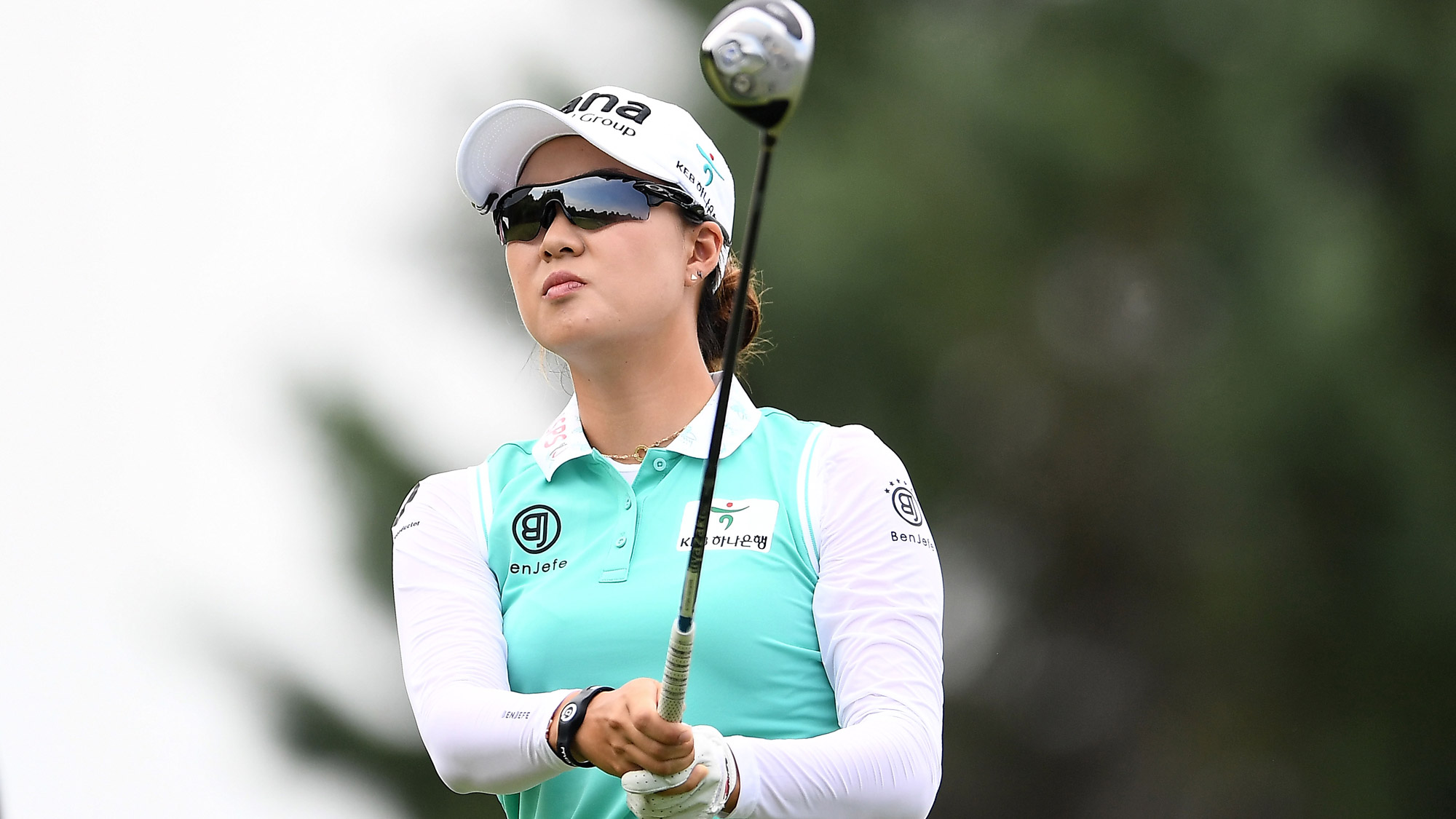 Minjee Lee Swings at the Thornberry Creek LPGA Classic