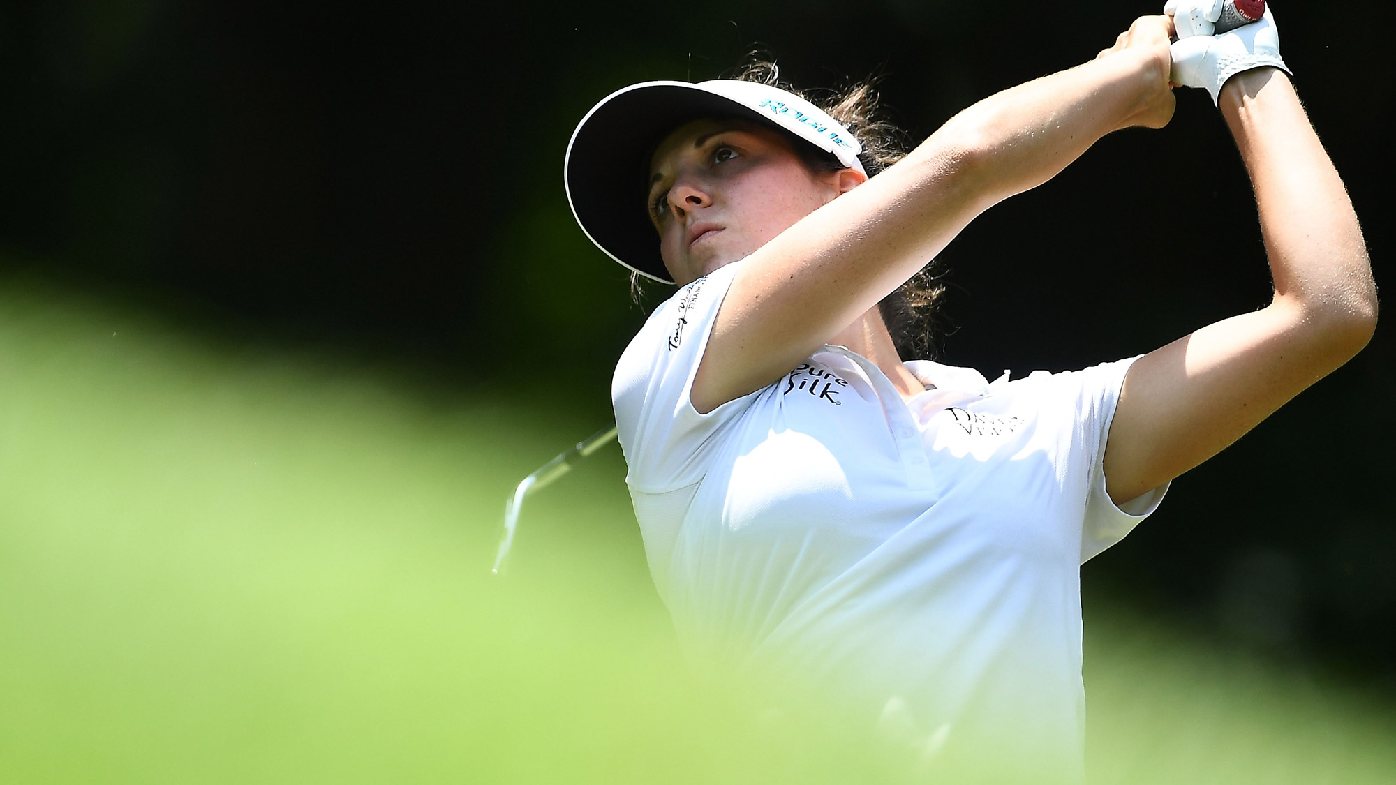 Aussie Kirk's perfect 10-under LPGA round