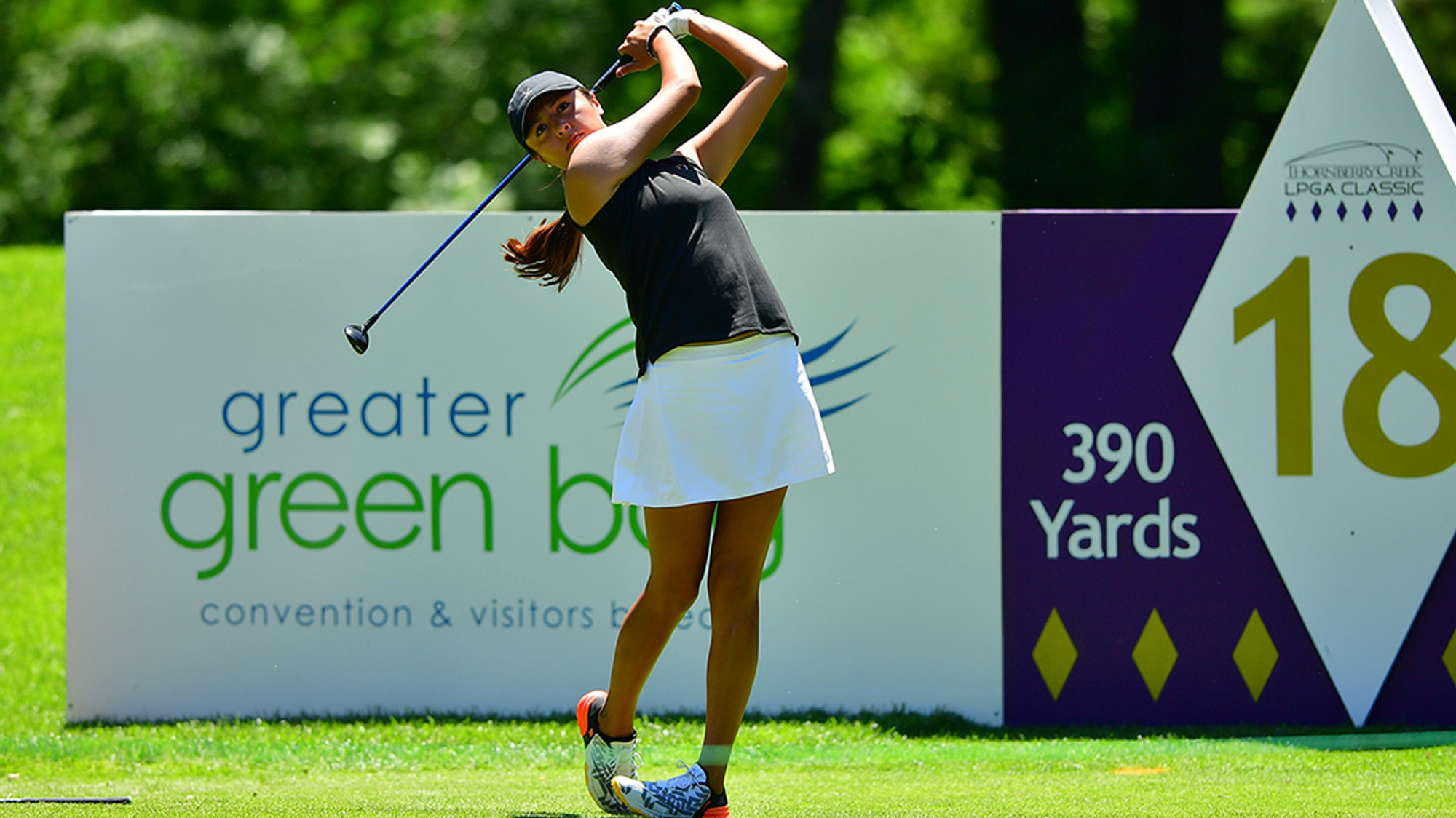 Gabby Lemieux at the Thornberry Creek LPGA Classic