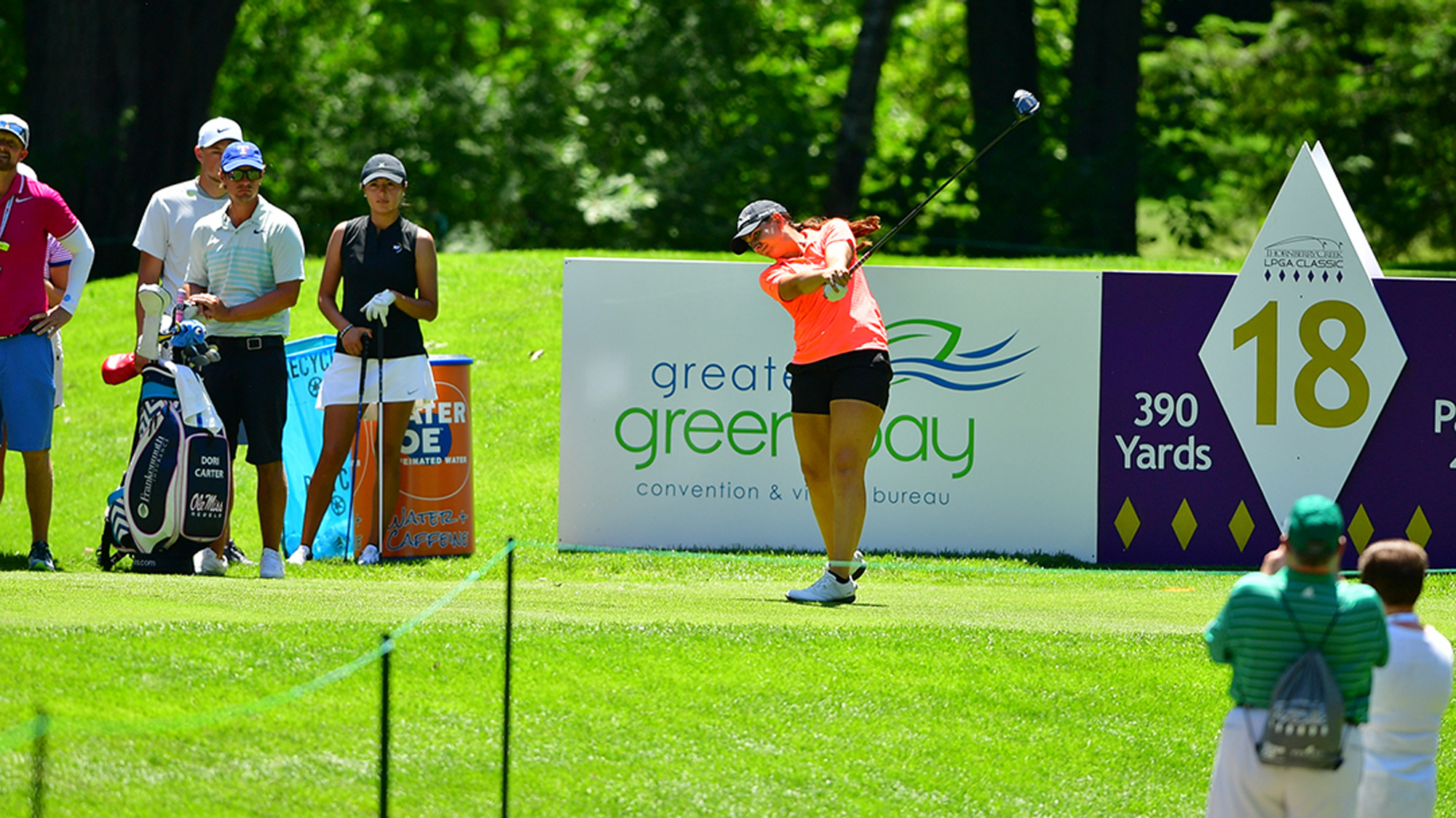 Katelyn Sepmoree at the Thornberry Creek LPGA Classic