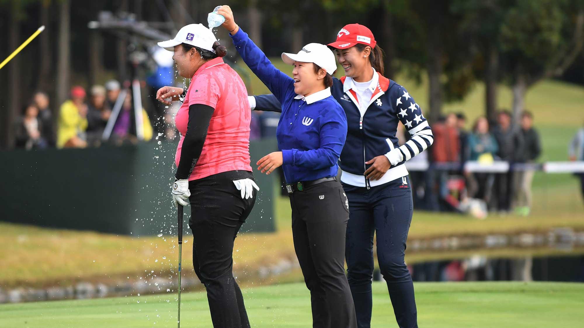 2016 TOTO Japan Classic In the Winners Circle | LPGA | Ladies ...