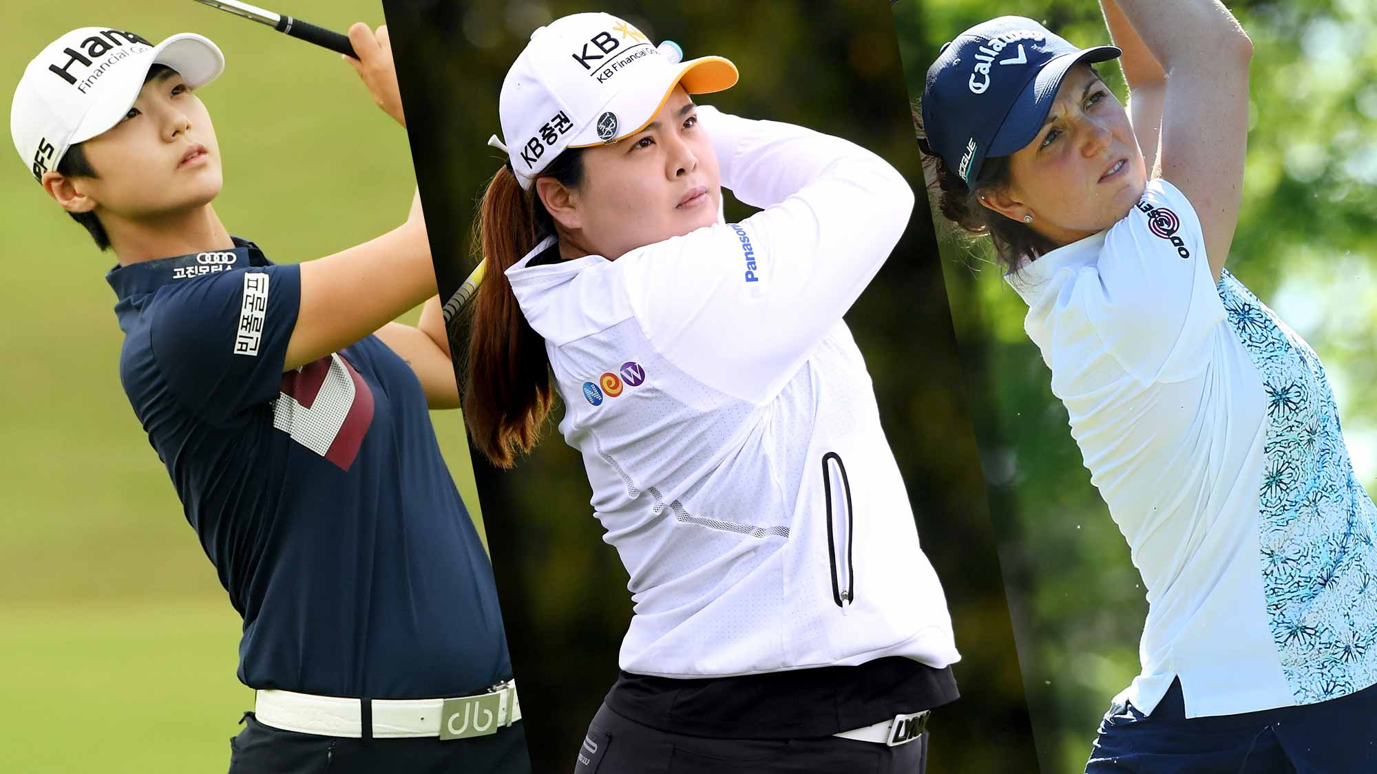 Jutanugarn, Smith, Lee share US Women's Open lead
