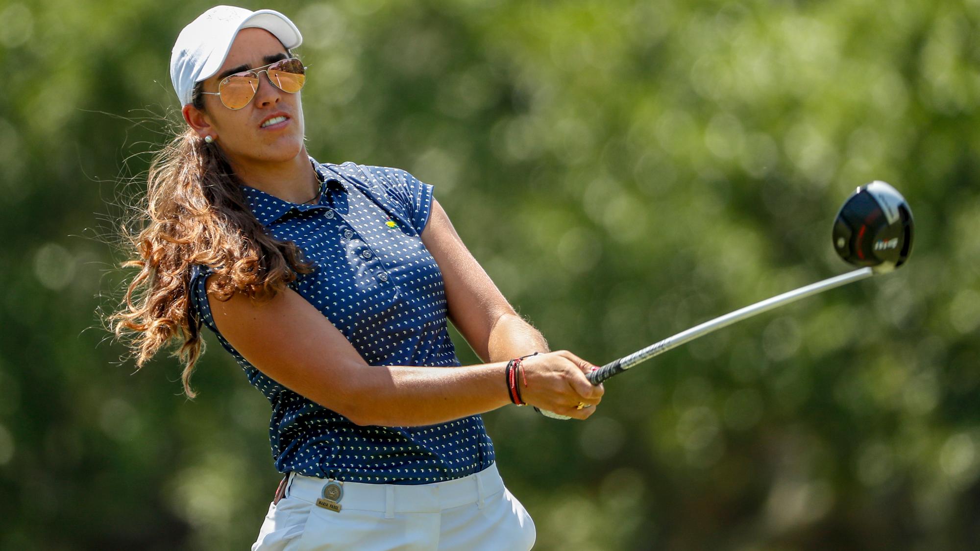 Womens amateur golf