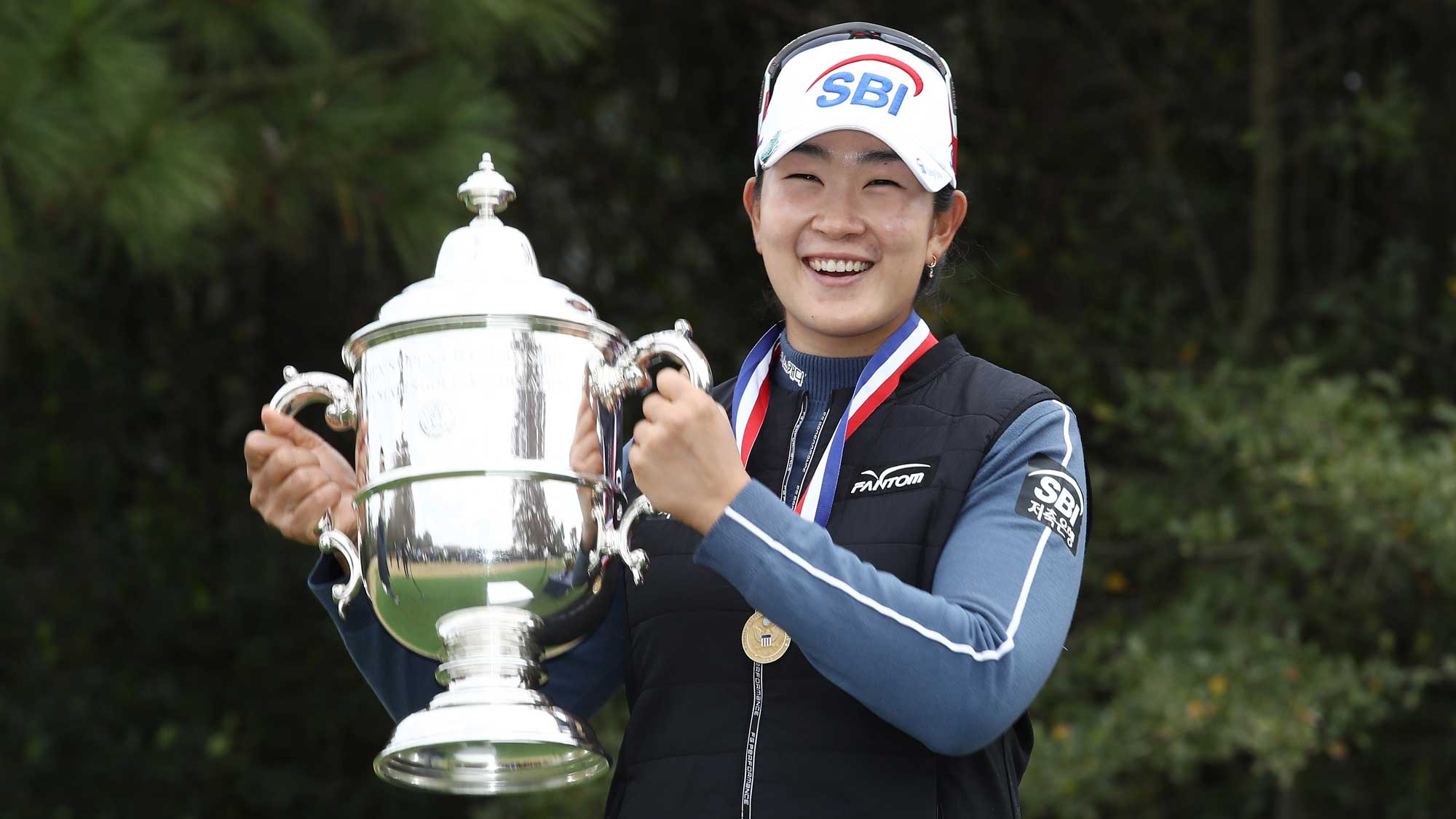 US Women's Open champion A Lim Kim