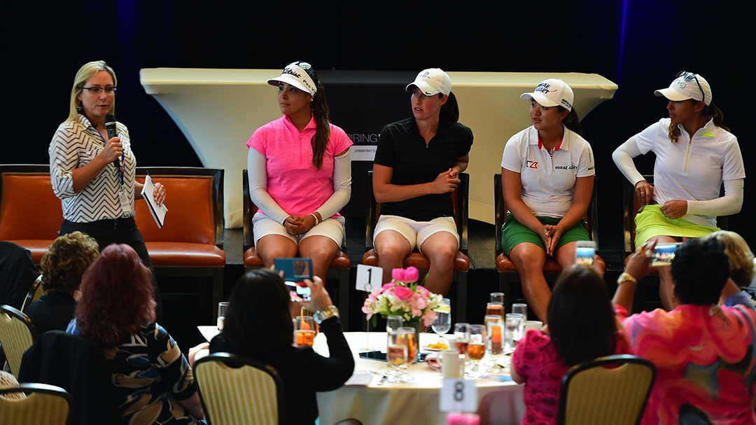 Karen Stupples Leads Panel of LPGA Players at the Inspiring Women Presented By Mary Kay Event