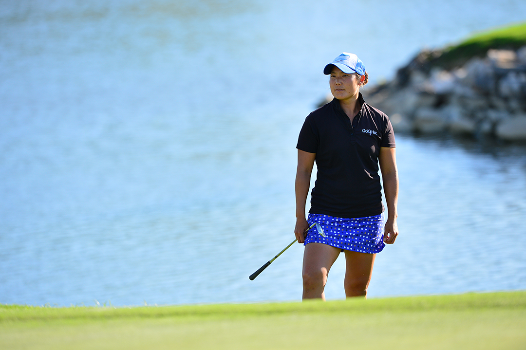 Tiffany Joh during the VOA Texas Shootout Pro-Am