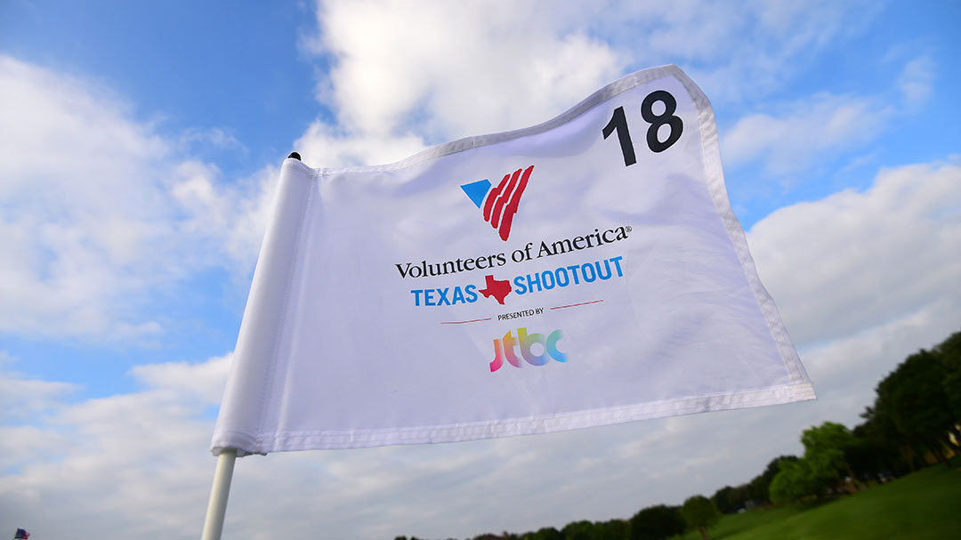 18th Hole Pin Flag at the 2016 VOA Texas Shootout Presented by JTBC