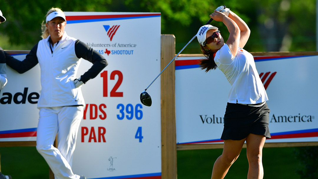 Sei Young Kim during a practice round before the 2017 Volunteers of America Texas Shootout Presented by JTBC