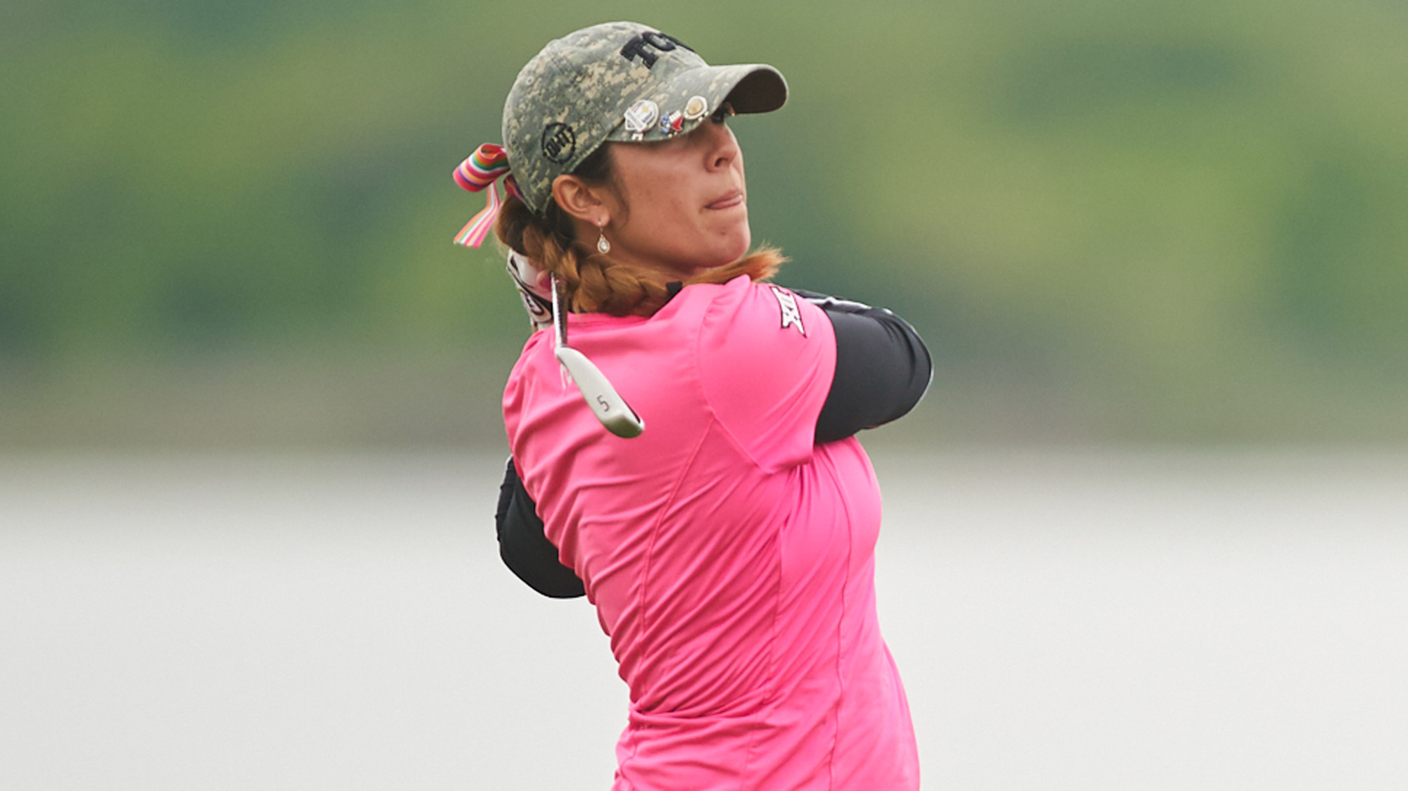 TCU Exemption Annika Clark at the VOA LPGA Texas Classic