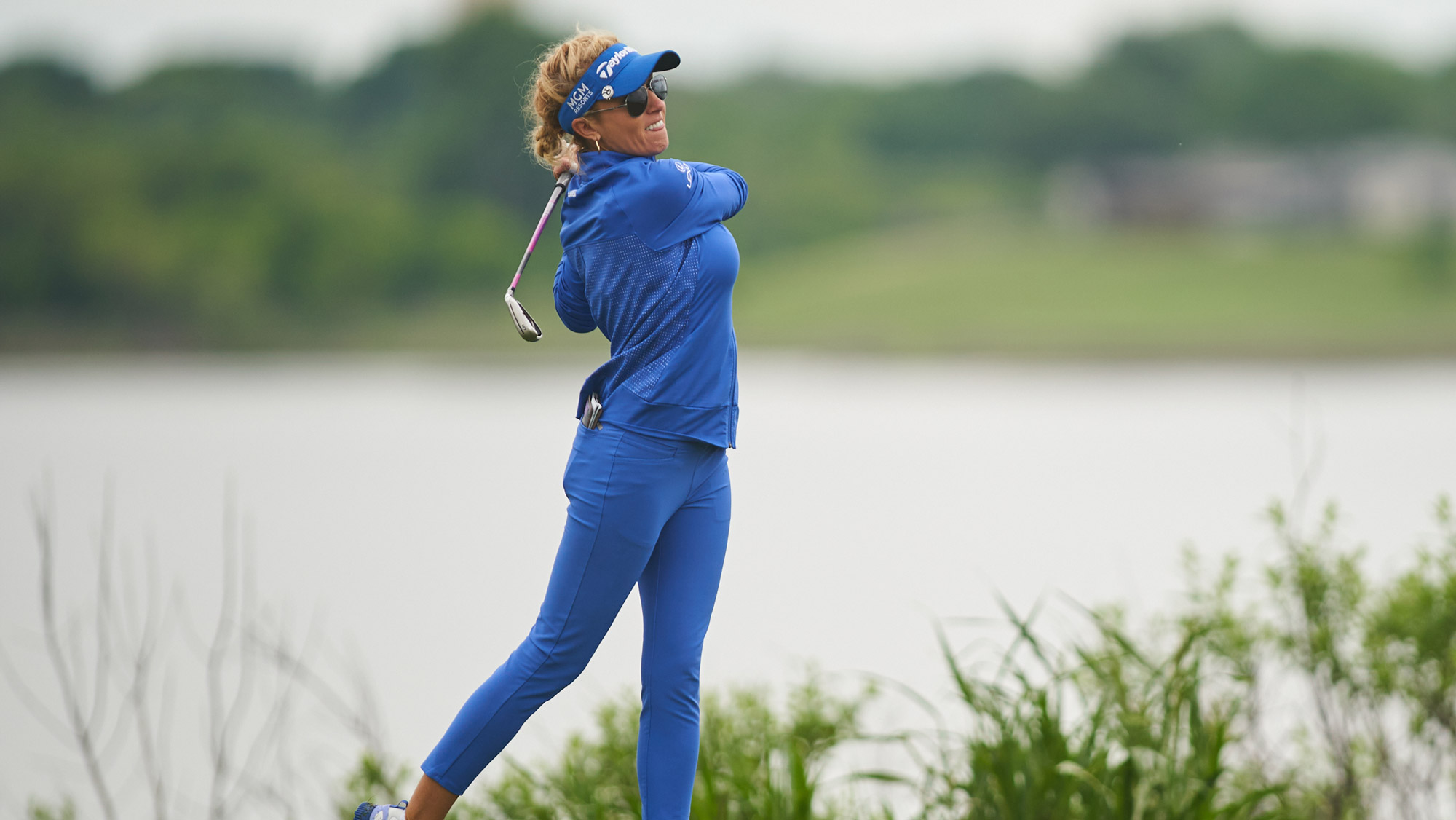 Natalie Gulbis in Round One in Texas