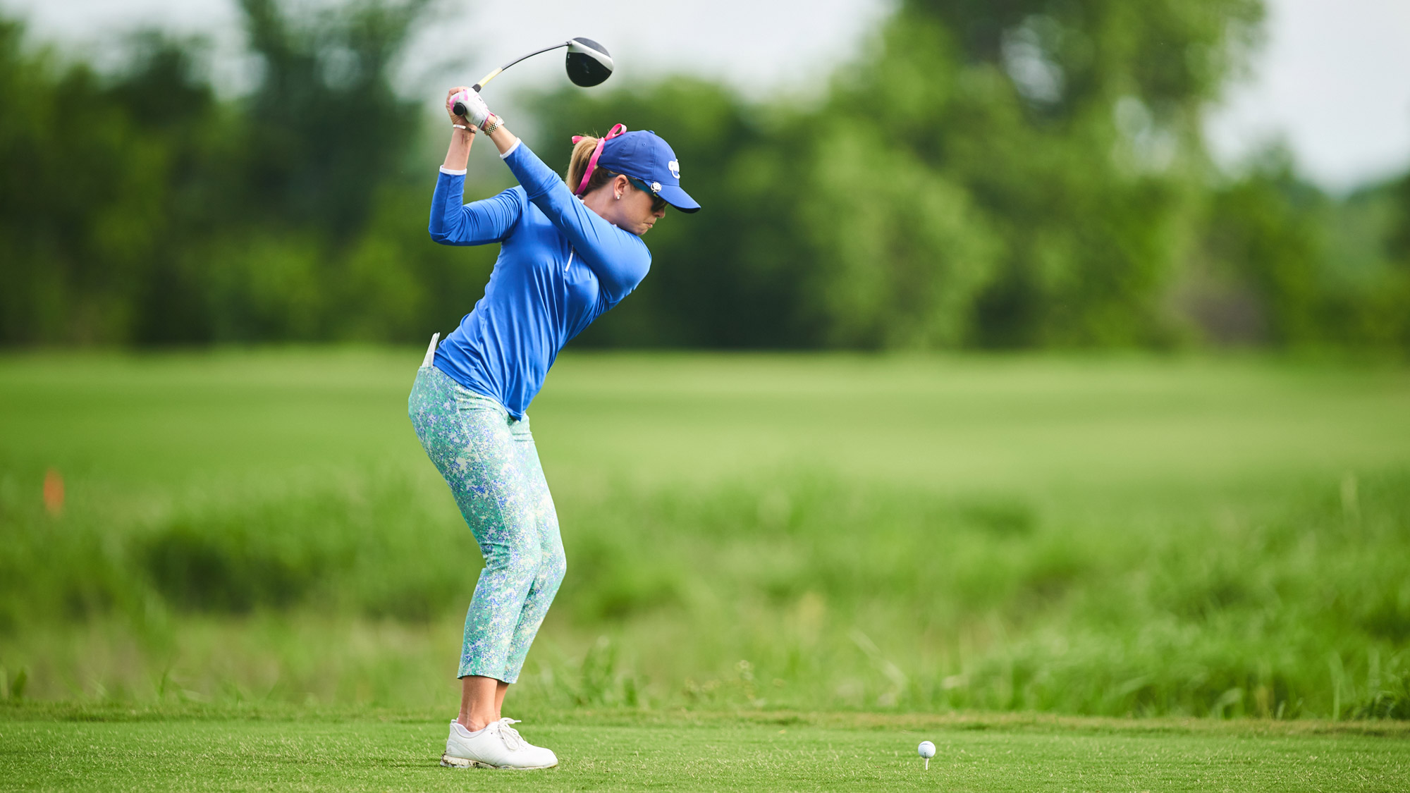 Paula Creamer in Round One of the VOA LPGA Texas Classic