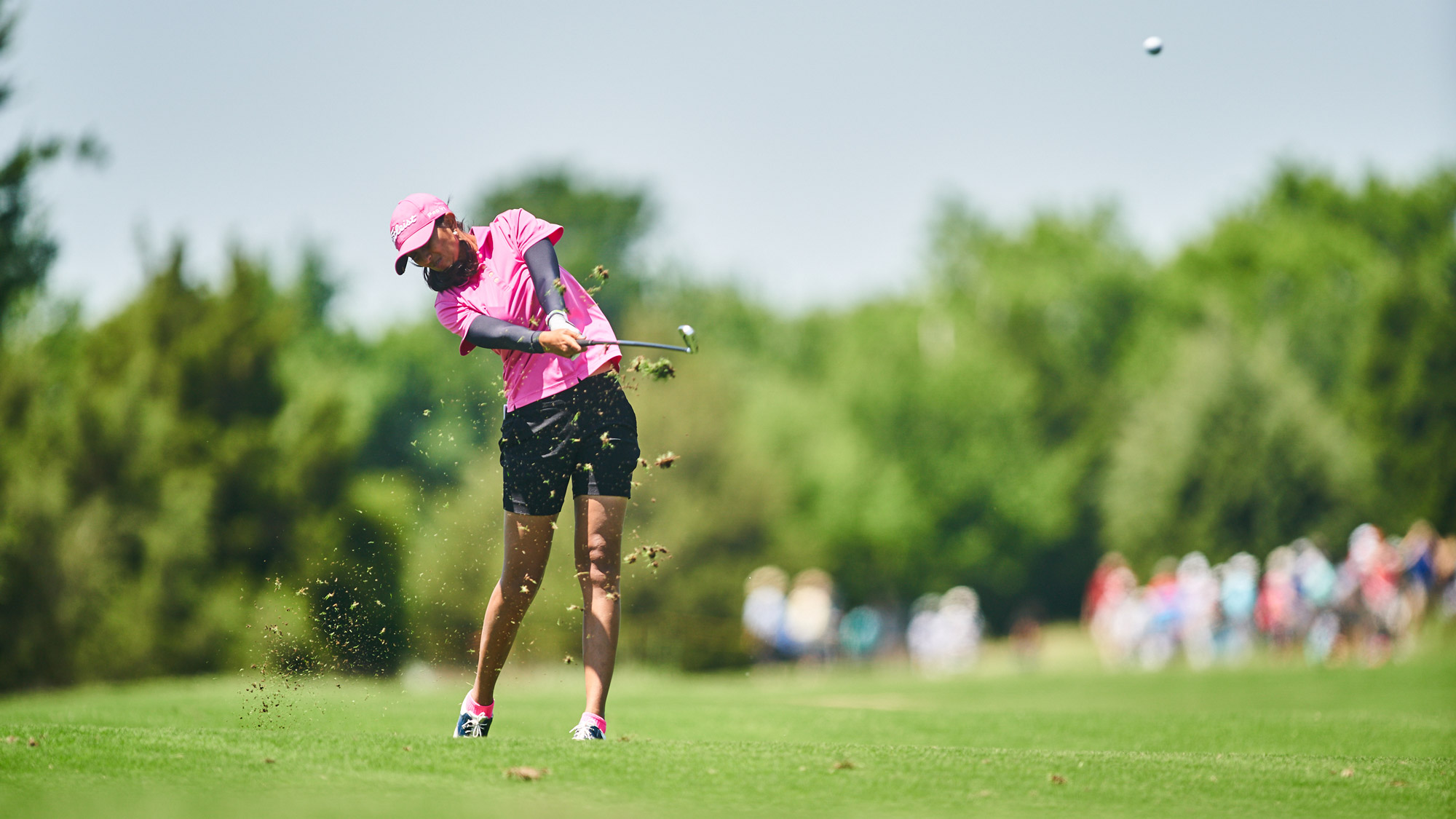 Aditi Ashok Takes a Swing at the VOA LPGA Texas Classic on Saturday