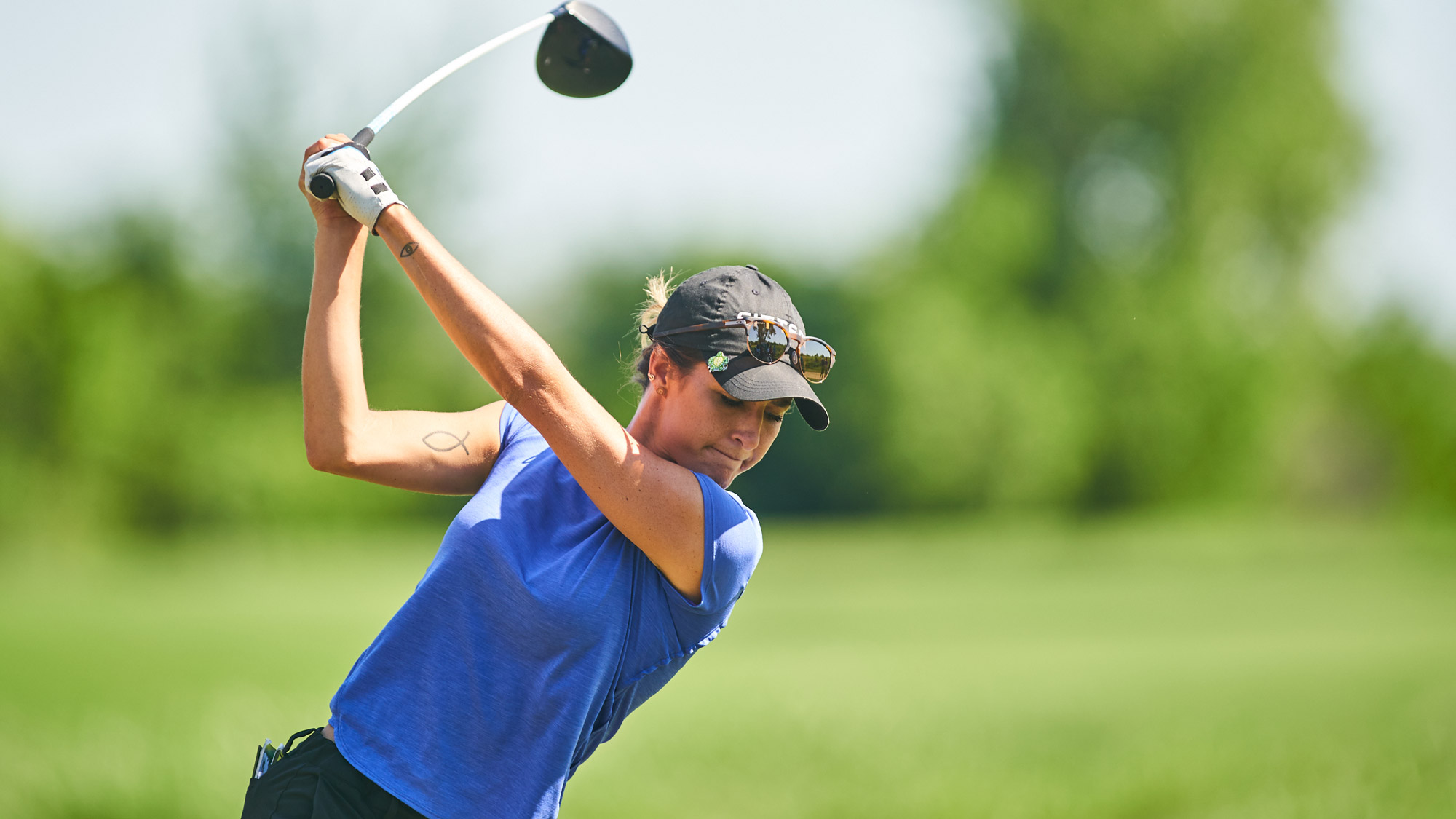 Jaye Marie Green in Hunt at VOA LPGA Texas Classic