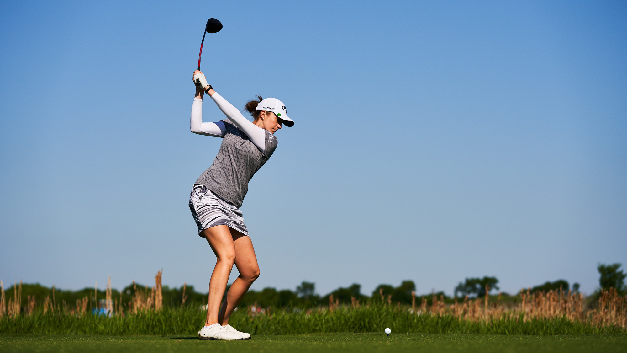 Kim Kaufman Loads Up Her Swing at VOA LPGA Texas Classic