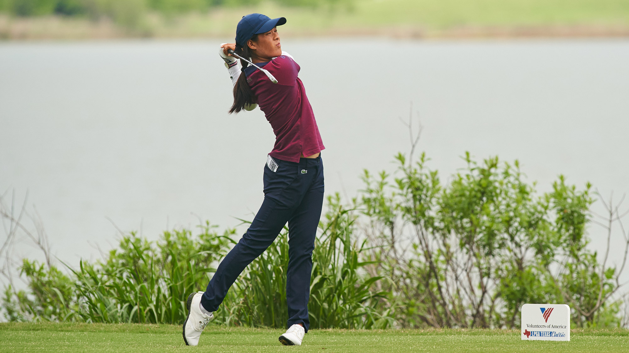 Celine Boutier at the VOA LPGA Texas Classic