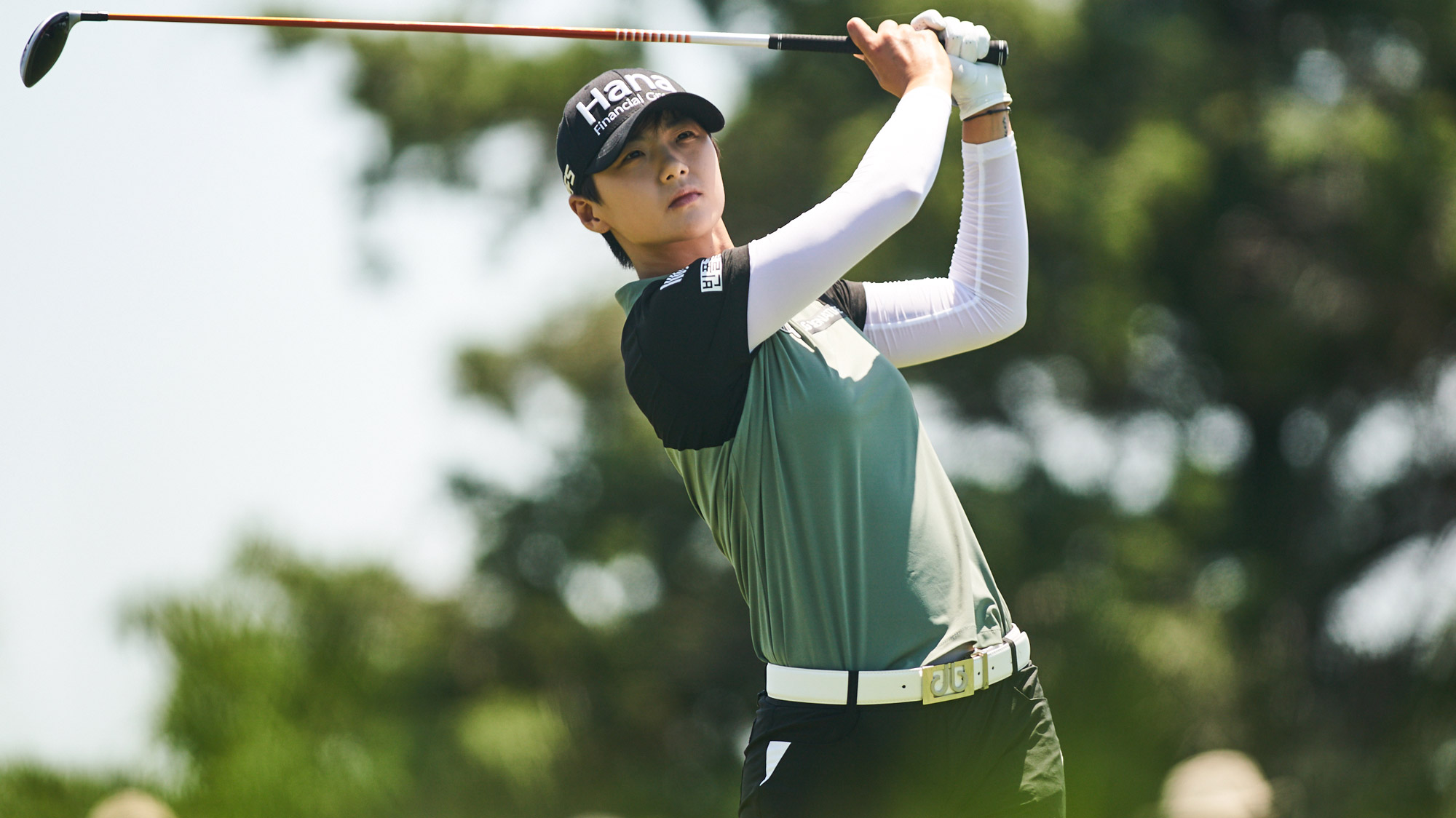 Sung Hyun Park on Sunday at the VOA LPGA Texas Classic