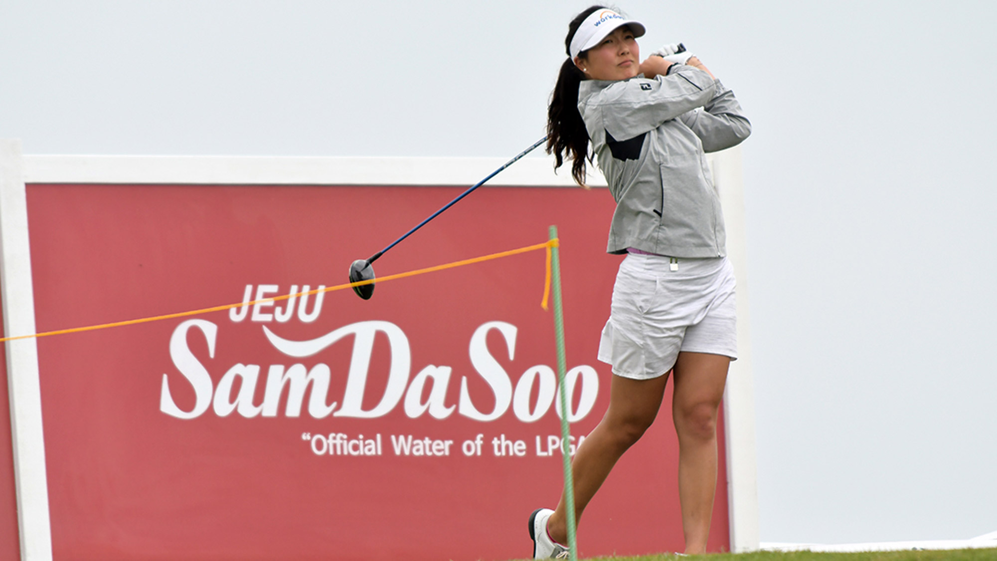 Lauren Kim Swings in the Pro-Am at the VOA LPGGA Texas Classic