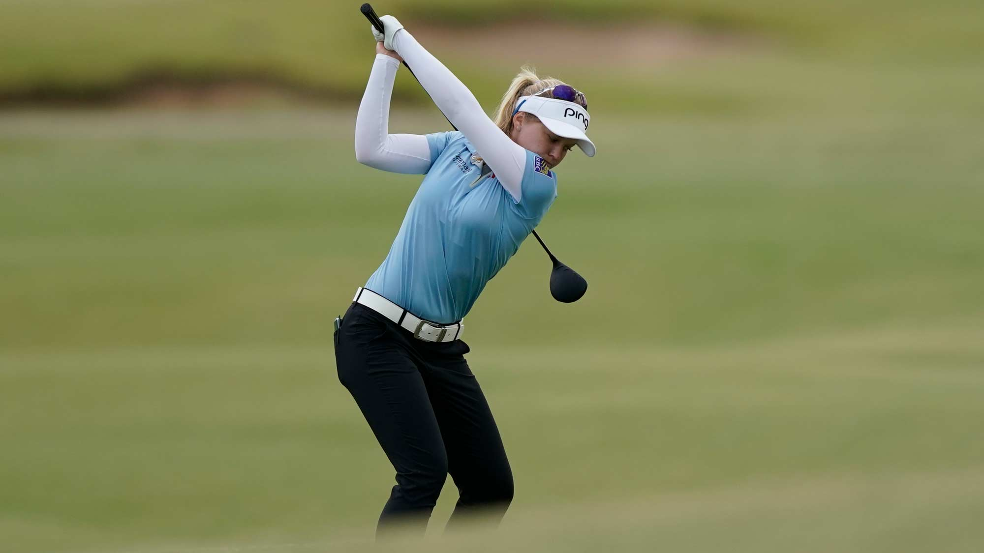 Brooke Henderson in the second round VOA Classic