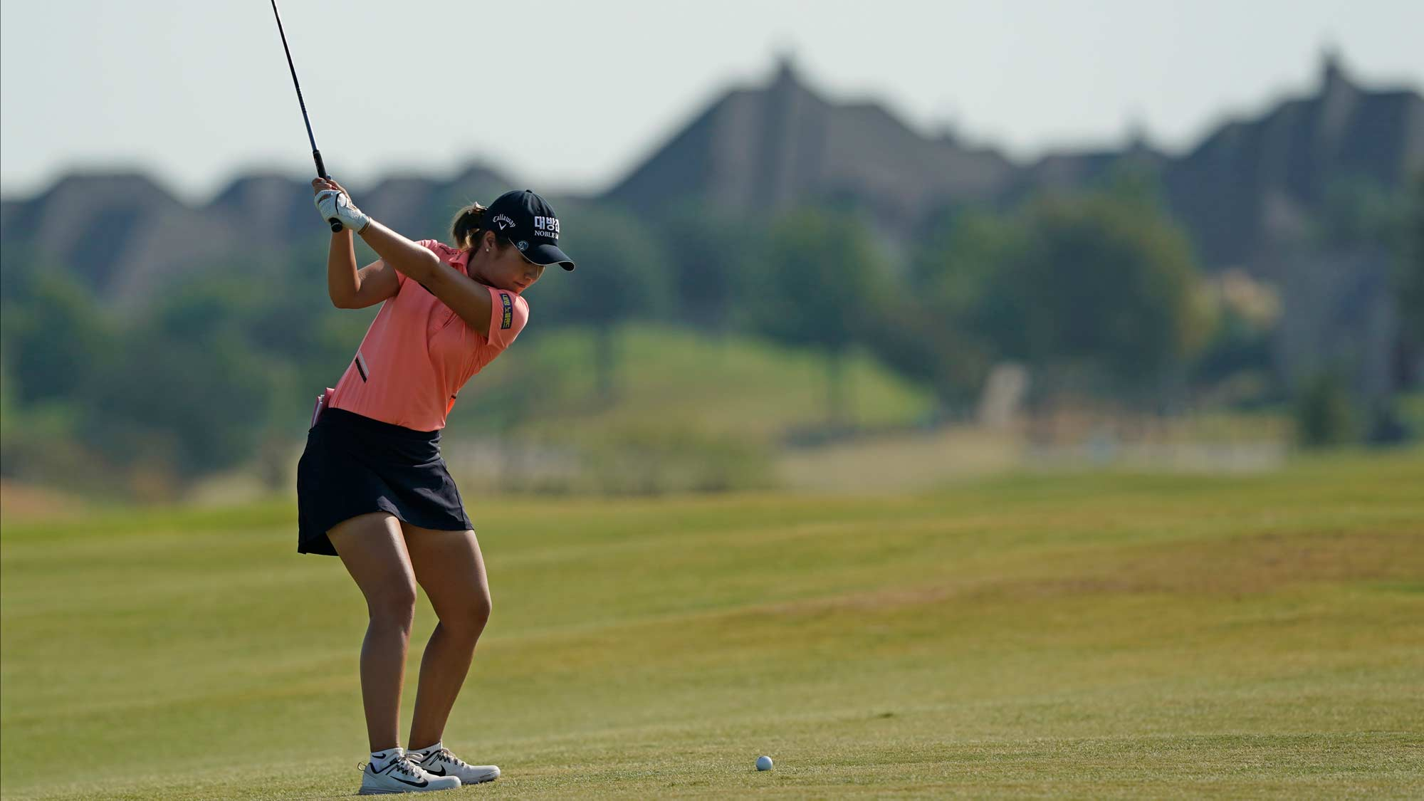 Jeongeun Lee6 at the third round of the VOA Classic