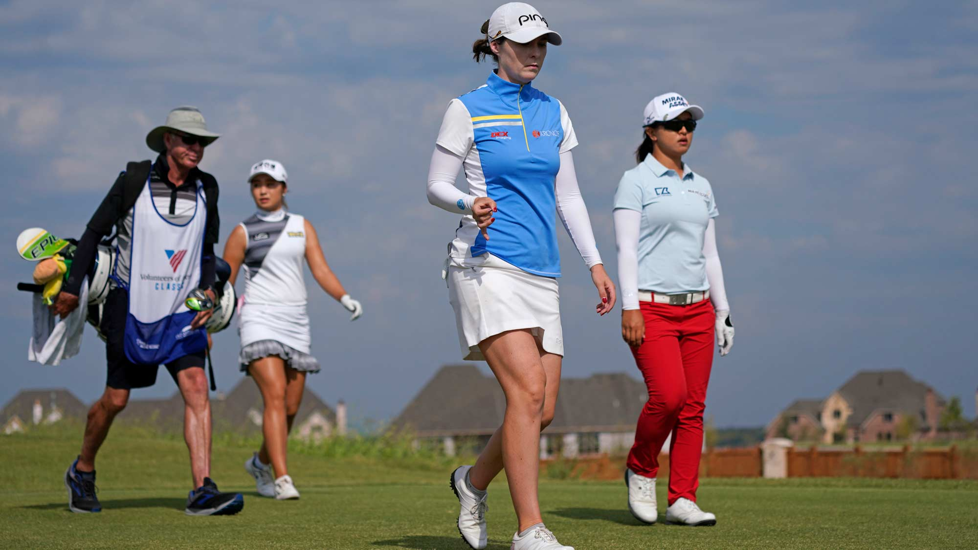 Brittany Altomare, Sei Young Kim and Jeongeun Lee6 Walking at the VOA Classic