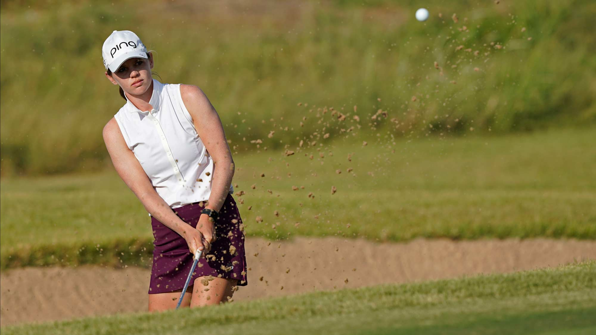 Sarah Schmelzel at the fourth round of the VOA Classic