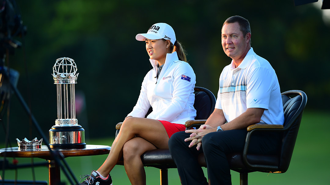 Mike Whan and Minjee Lee talk about the UL International Crown on Morning Drive before the Walmart NW Arkansas Championship