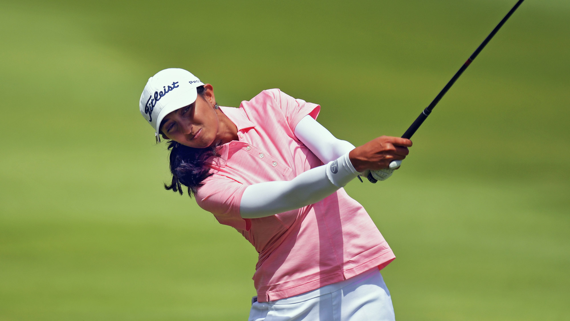 Aditi Ashok Posts a 64 in Round One in Arkansas