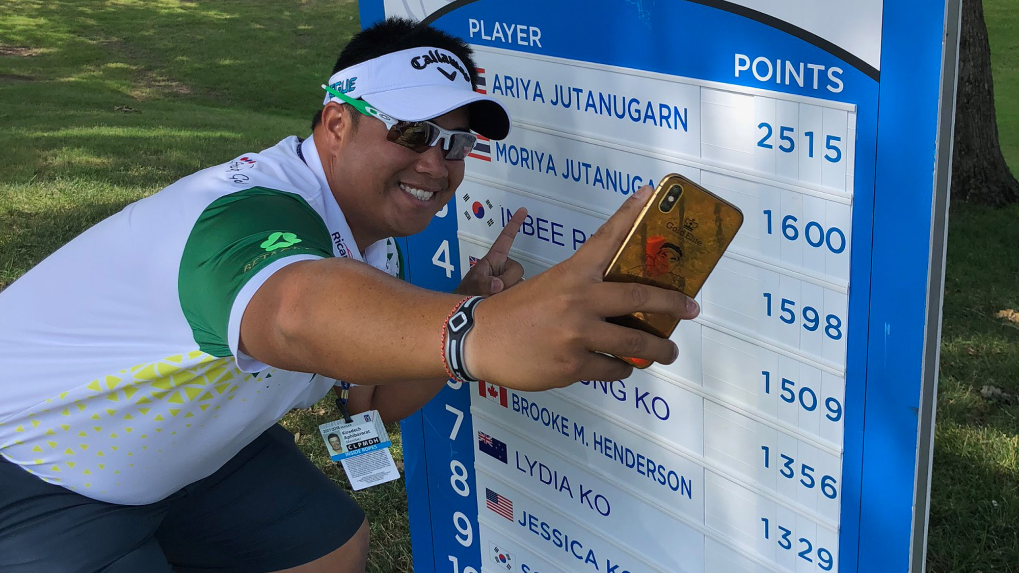 PGA TOUR star Kiradech Aphibarnrat took in Round One of the Walmart NW Arkansas Championship