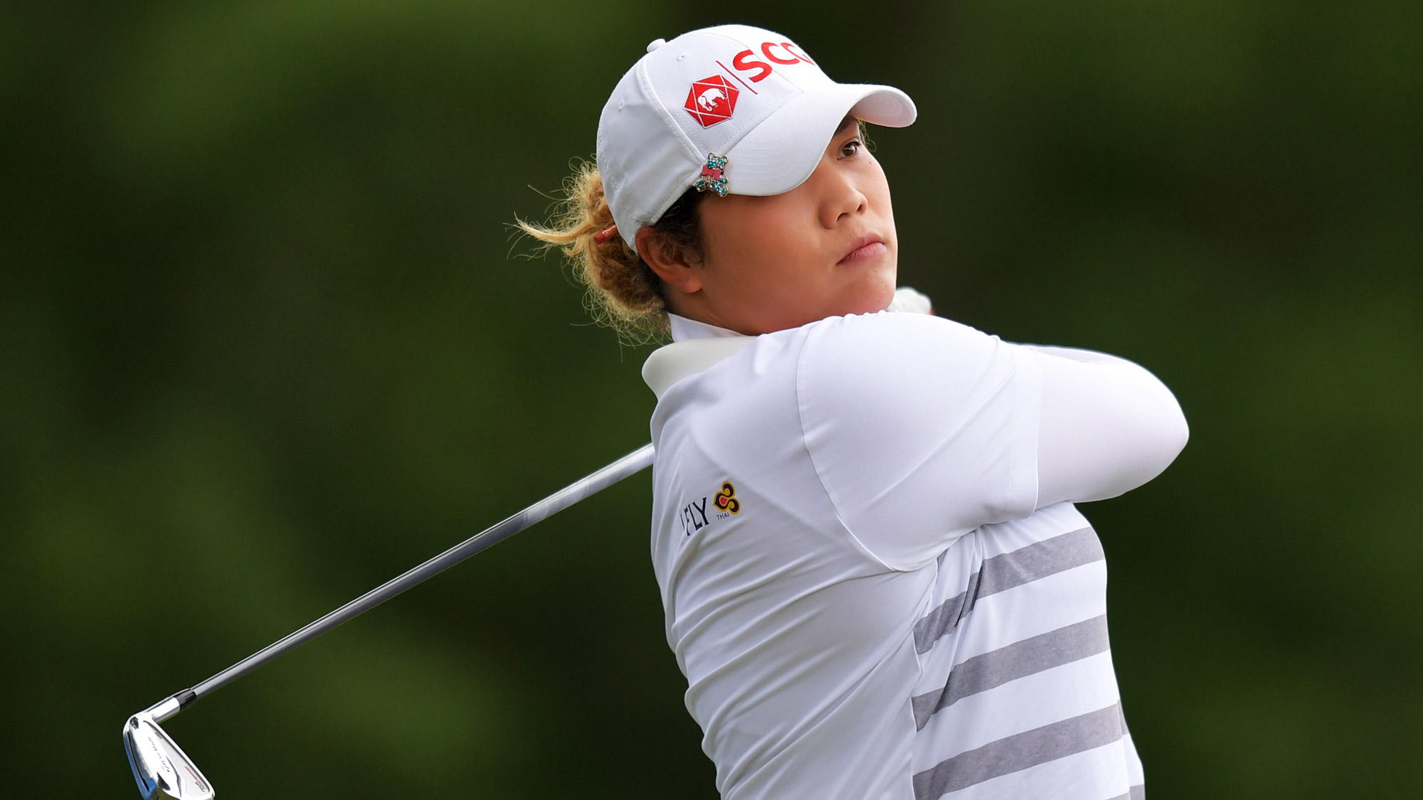 Ariya Jutanugarn in Round Two of the Walmart NW Arkansas Championship