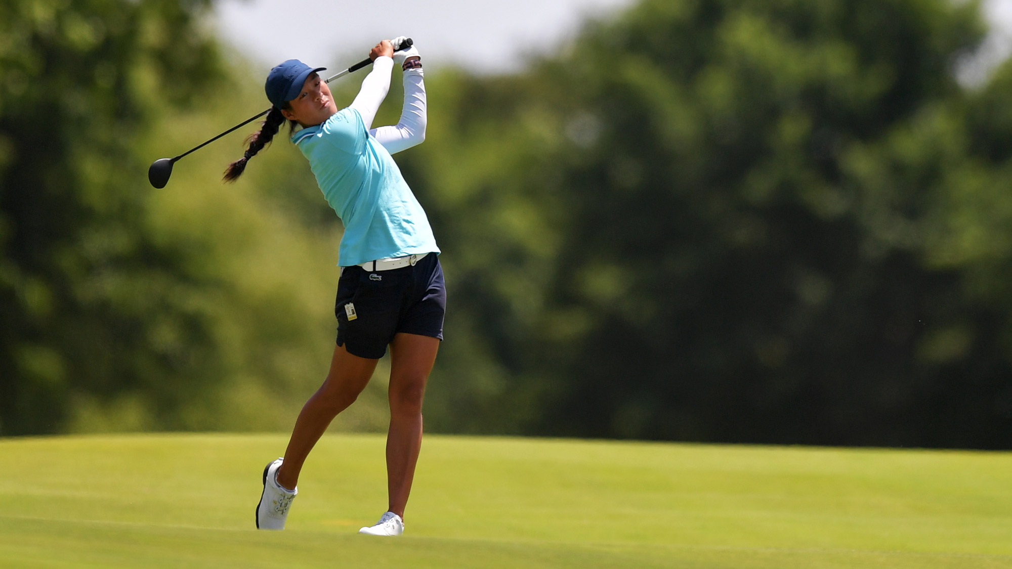 Celine Boutier is in Contention in Arkansas