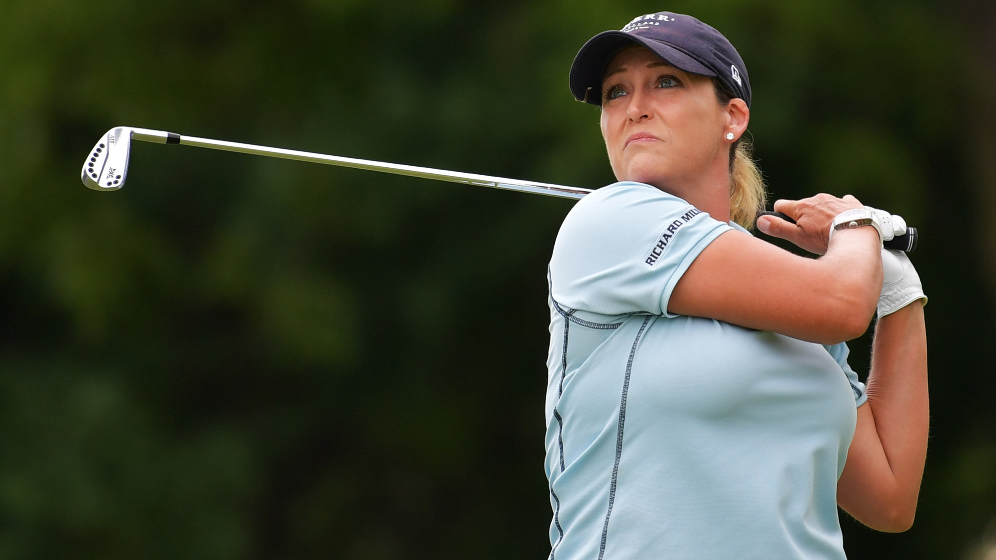 Cristie Kerr Focused in Round Two