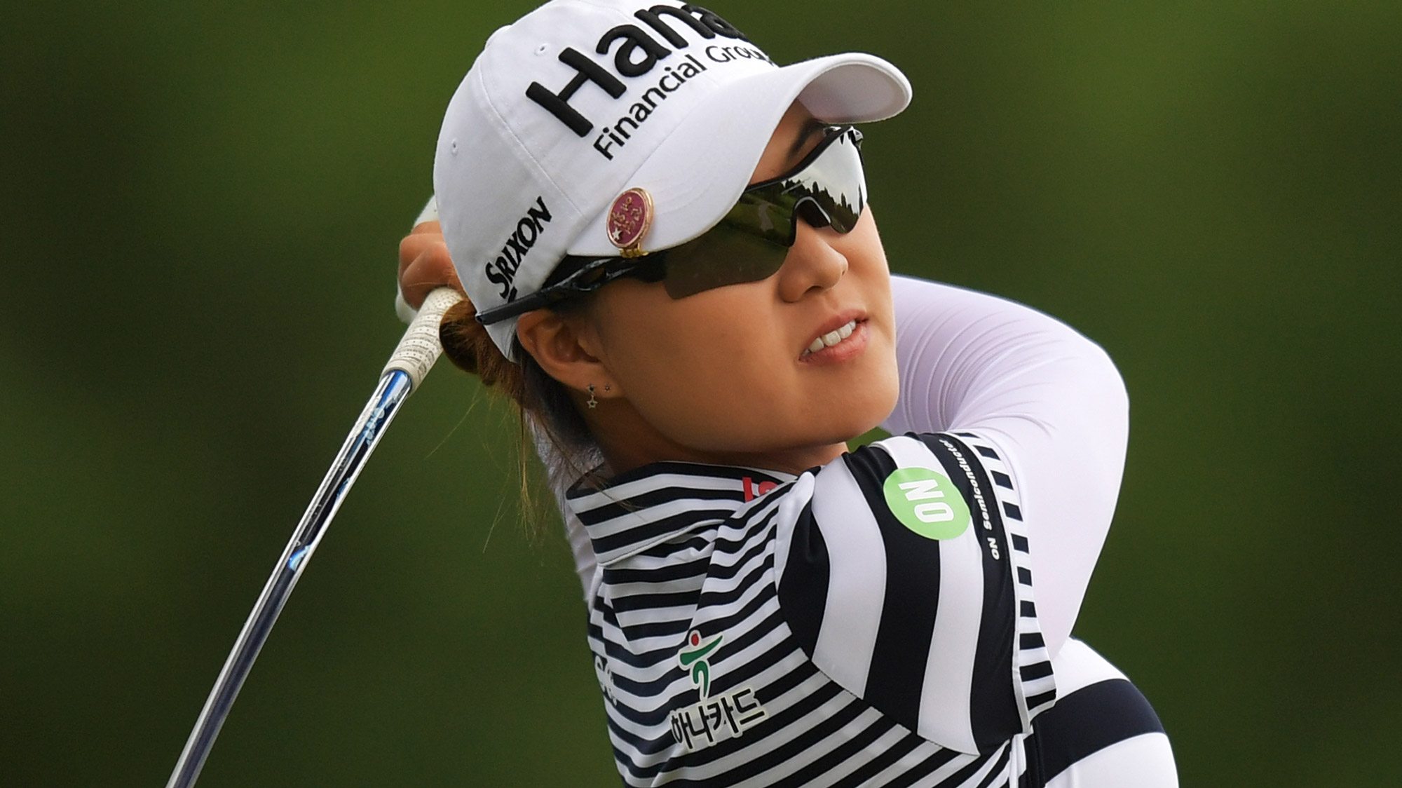 Minjee Lee at the Walmart NW Arkansas Championship