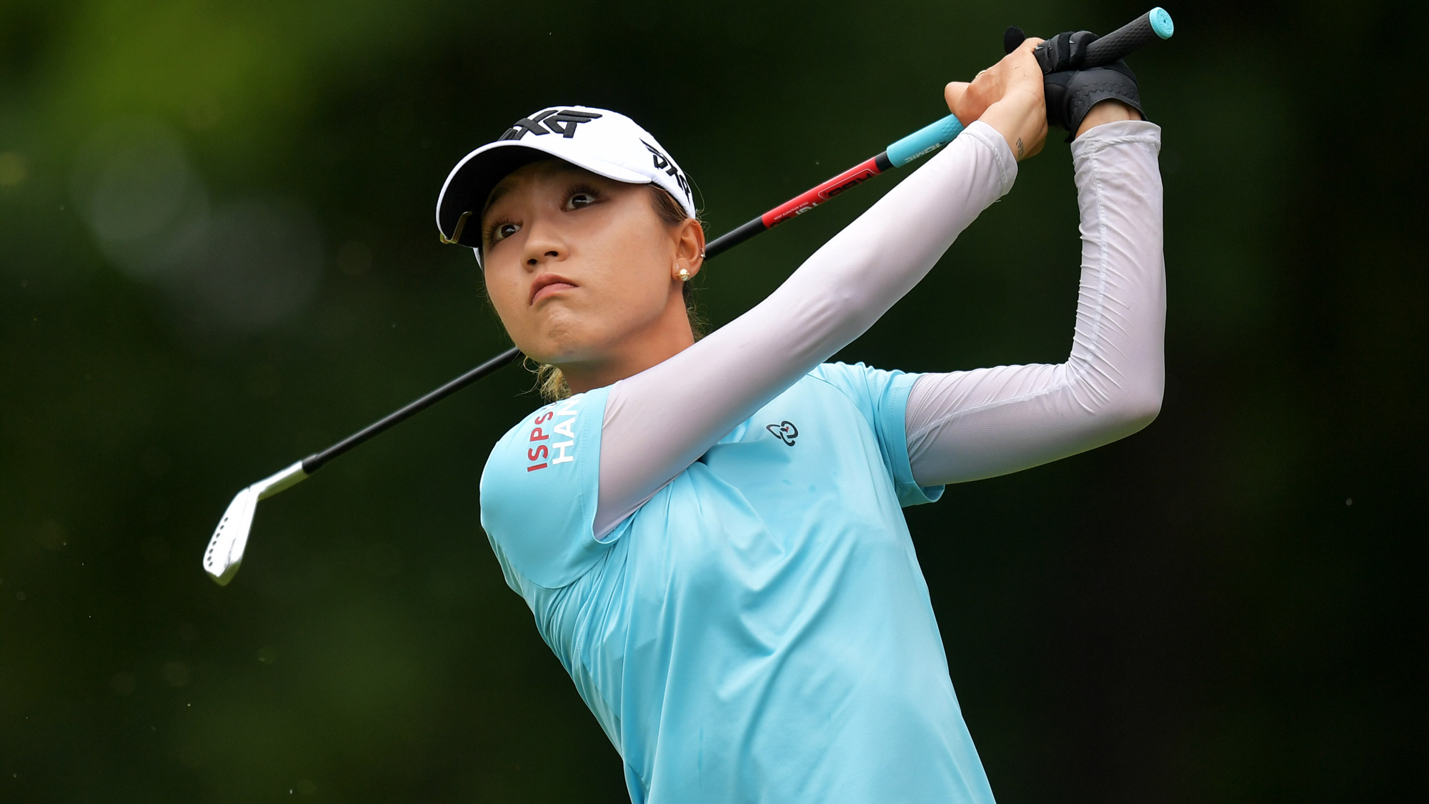 Lydia Ko After a Drive at the Walmart NW Arkansas Championship