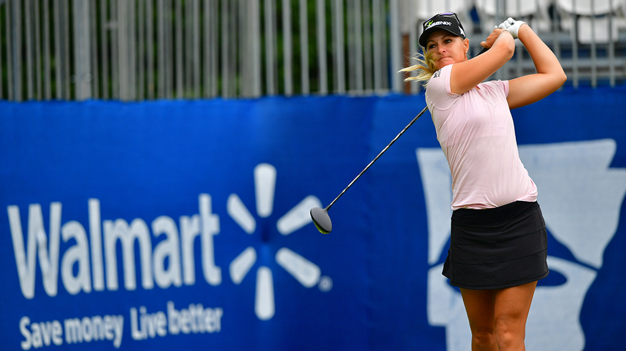 Anna Nordqvist Takes a Swing in Arkansas