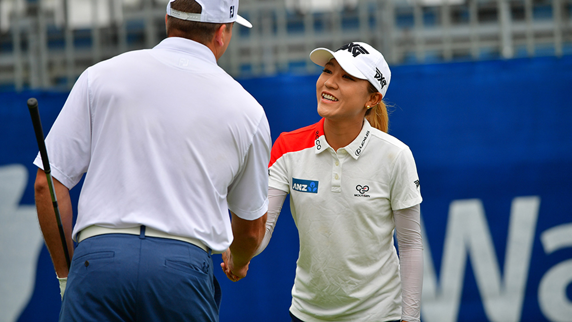 Lydia Ko Meets Her Pro-Am Partner