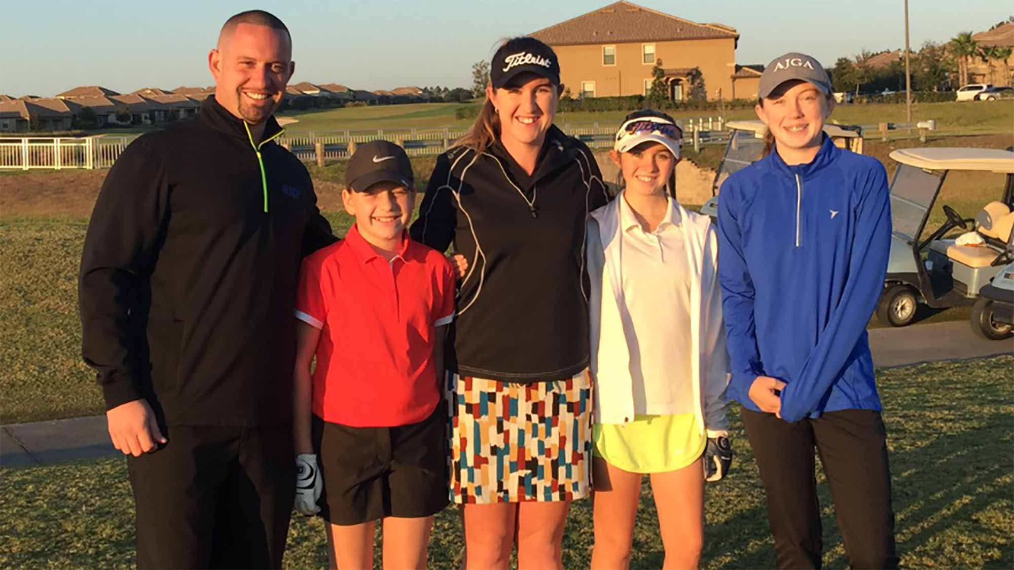 Amelia Lewis Hosts Junior Event