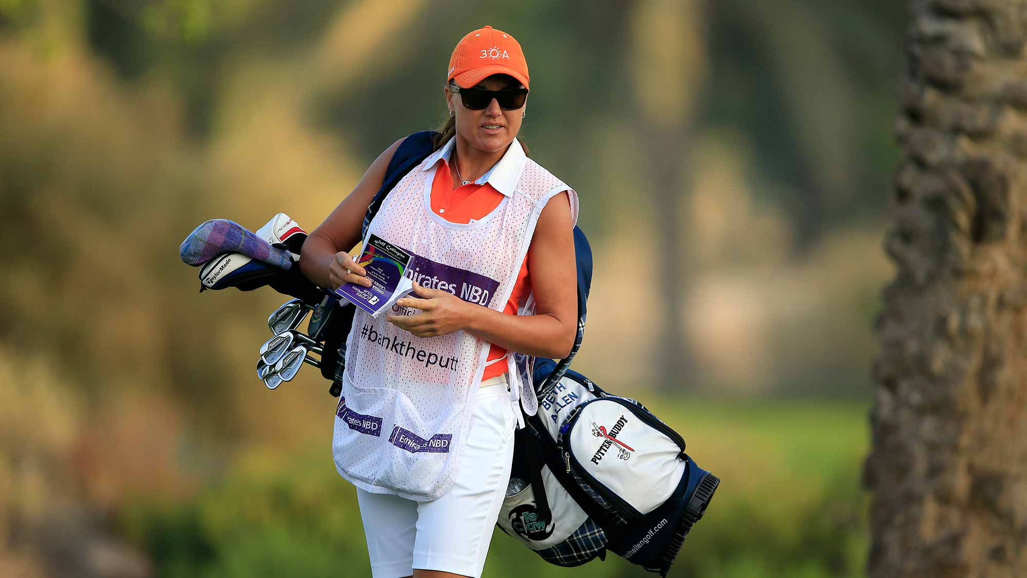 Sophie Gustafson Returns As Caddie to KPMG Women's PGA Championship